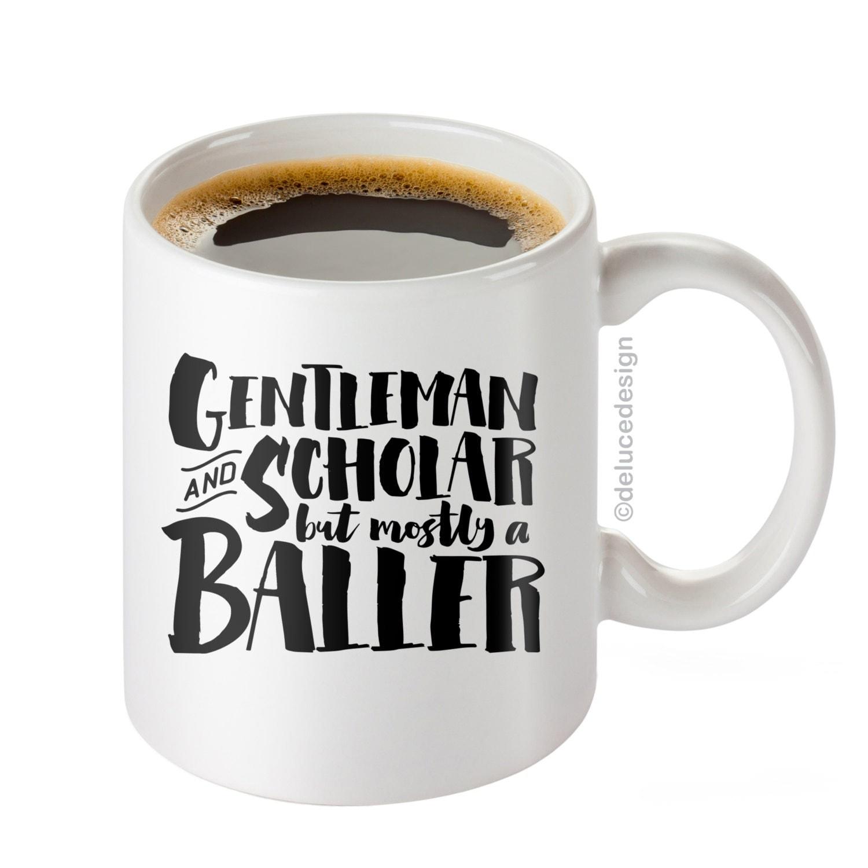 Fathers Day Funny Coffee Mug for Men / Dad Mug / Gentleman and
