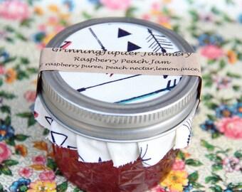 Homemade Raspberry Peach Jam - 4oz
