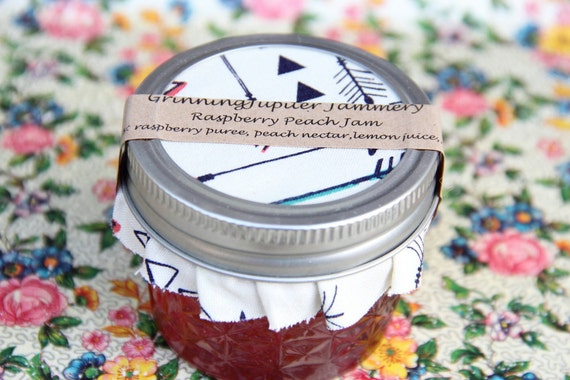 Homemade Raspberry Peach Jam - 4oz