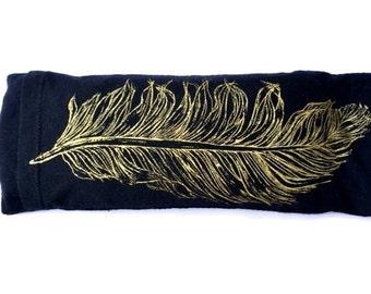 Eye pillow / Organic Cotton and Bamboo / Yoga tool, perfect for Savasana