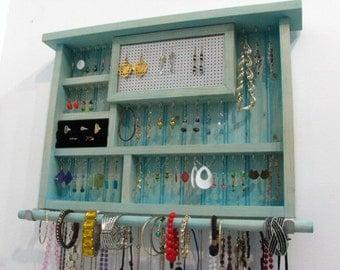 Aqua Jewelry Holder