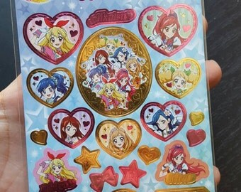 Destash Japanese Cartoon Holographic Stickers