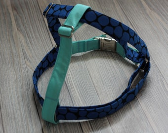 Dog Harness - Step In Dog Harness - Dog Harness Step In - Boy Dog Harness - Blue Dog Harness - Large Dog Harness - Small Dog Harness
