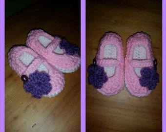 Infant maryjane shoes