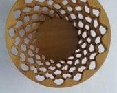 Poplar Wobble Bowl