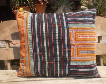 Hmong Vintage Textile Cushion Cover