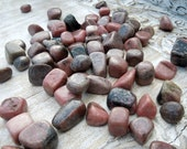 Rhodonite Tumbled Stones / Healing Crystals