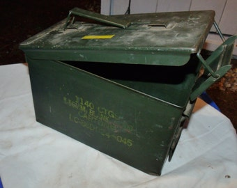 Frank's Military Ammunitions box, S.C.F. small arms Ammo box, M16 Blanks Ammo box.....