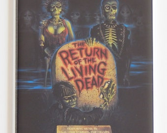 Return of the Living Dead Movie Poster Fridge Magnet