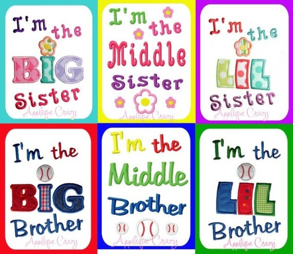 Sibling design Pack Applique Embroidery design