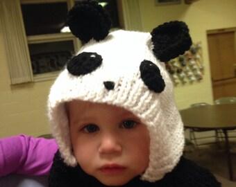 Panda hood/hat