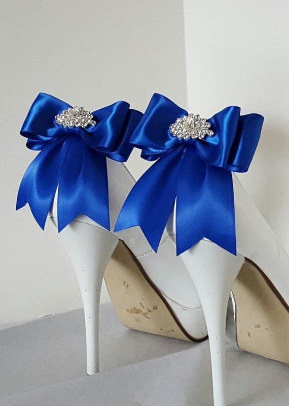 royal blue wedding shoe clipsbridal shoe clips many