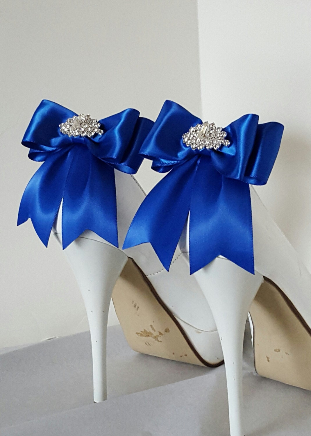 Royal Blue Wedding Shoe ClipsBridal Shoe Clips MANY