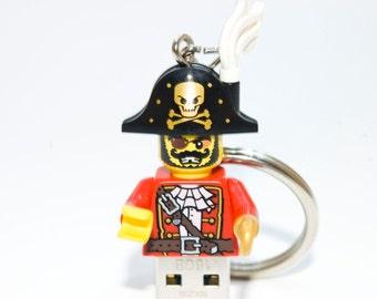 128GB Pirate USB Flash Drive with Key Chain