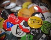 """10 Buttons: 1.5"""" Camera Film Photography themed"""