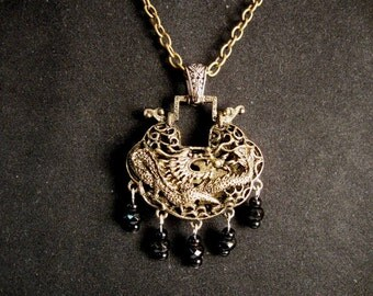 Dark Dragon Necklace