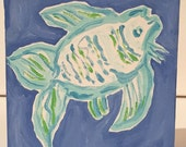 Lilly Fish painting