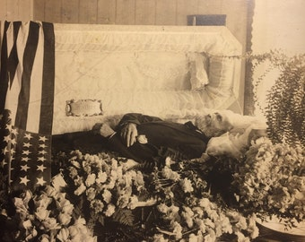 Post Mortem Funeral Photo