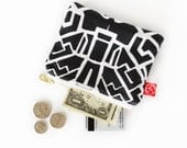 Coin Pouch   Tribal Black