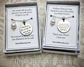 Matching Mother of the Bride and Mother of the Groom Necklaces, Mother of the Groom Necklace MOG4, Mother of the Bride Necklace MOB9