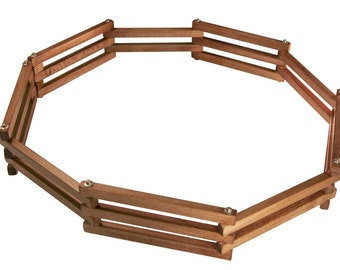 Toy Wood Corral, Fence, Horse Barn Yard,  Pasture Fencing, Animal Fencing, Pretend Play