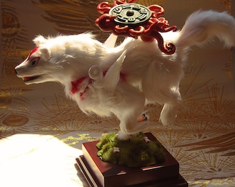 Okami COMMISSION sculpture / statue / figure