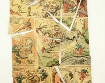 Avengers puzzle, Avengers magnet, comics magnet, comics book puzzle, comic fridge magnet puzzle, magnetic puzzle, comic book magnet, geekery
