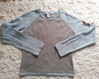 Uniszex cashmere sweater for 10-12 years old children 100% cashmere