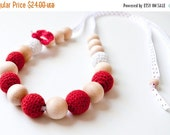 CIJ SALE 25% Nursing Necklace/Teething Necklace by SimplyaCircle-Breastfeeding Necklace-Mother's day