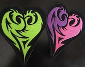 Disney Descendants Inspired Mal's Icon Embroidered Iron on/ Sew On Patch 3 Sizes,2x3, 3x4, 5x6 inches