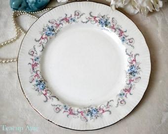 Paragon Romance Salad Plate, English Bone China Salad Plate, Replacement China, ca. 1950
