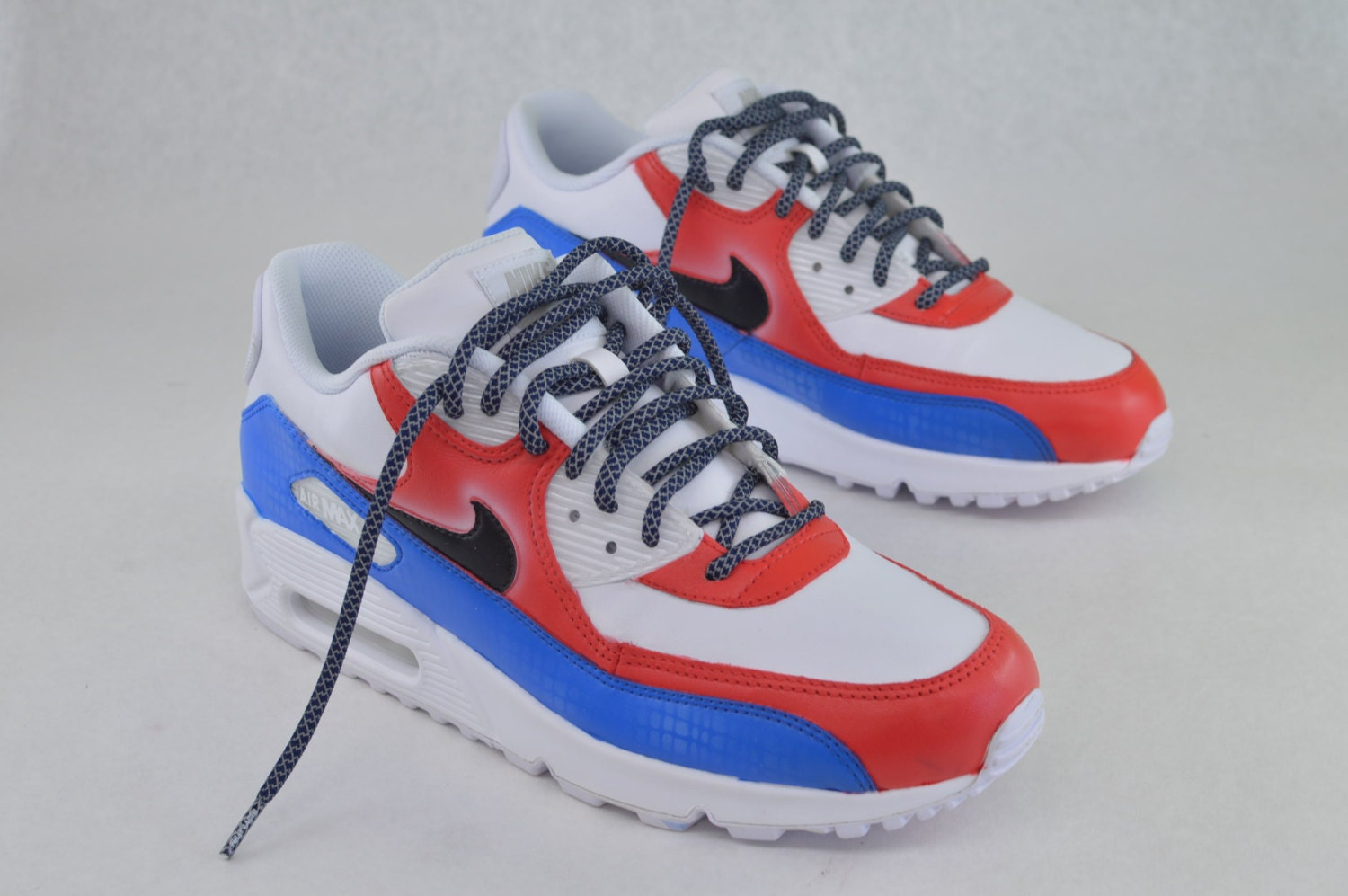 Hand Painted Nike Air Max 90 Running Shoes