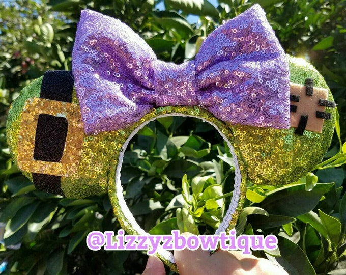 Dopey Sequin Minnie ears