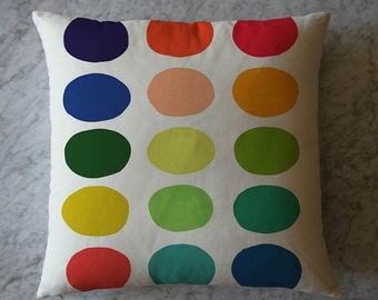 Pillow with Multicolor Dots. July 25, 2014