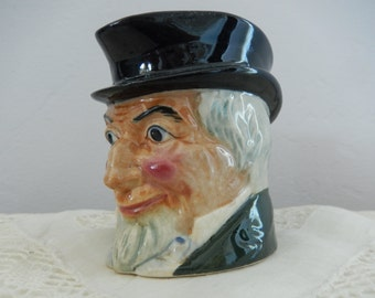 Toby Cup Vintage - Antique Toby Cup - Toby Cup/Pitcher - Marutomoware Toby Cup - Old Man Toby Cup