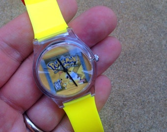Pokemon Yellow Watch - Pikachu