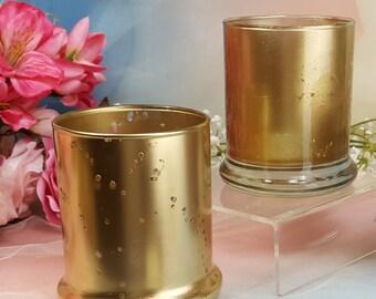 2 per tall mercury glass votive candle holder vases gold mercury vase candle holder