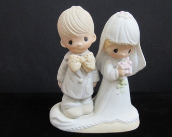 Wedding Collectible The Lord Bless and Keep You  Bride and Groom c1979