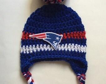 New England Patriots Crochet Afghan Pattern Free : Crochet patriots Etsy