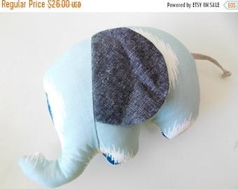 HALLOWEEN SPECIAL SALE Stuffed Elephant - Elephant - Stuffed Animal - Plush Toy - Baby Elephant