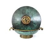 Rare Dayagi Pedestal Bowl