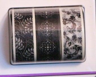 Beautiful Black Washi Tape Set