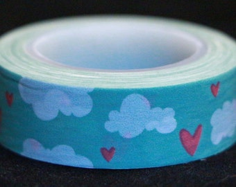 Hearts and Clouds Fun Washi Tape
