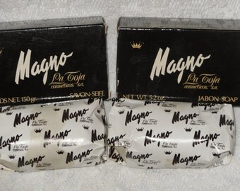 Magno La Toja Soap 2 Bars Glycerin Vintage Spain