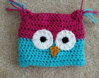 Adorable owl hat