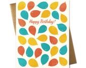Happy Birthday! Balloons - Greeting Card