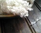 Snowball Pure White Wensleydale X locks  - Doll Hair- Santa Gnome Beards