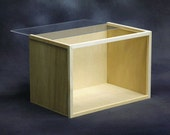 Classic Wooden/Plexiglass Room Box Kit, Scale One Inch