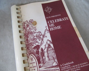 Vintage Episcopal Church fundraising Southern cookbook