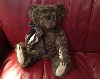 Boyds Collection Mohair Teddy Bear